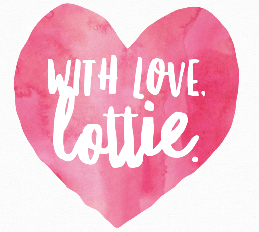 With love, Lottie.